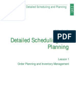 Detailed Scheduling and Planning Lesson 1