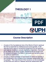 SAP Theology 1