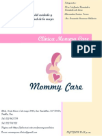 Catálogo de Clínica Mommy Care