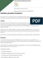 Parálisis periódica tirotóxica