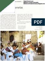 DANZA DE LAS ITALIANAS. GARGANTA LA OLLA. En Raíces. El Folklore Extremeño Coleccionable HOY Diario Extremadura (1995) Danzas altoextremeñas femeninas. p. 79-95