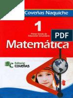 Covenas - Matematica 1