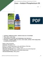 Acid Phos 200 Uses - Acidum Phosphoricum 30 Benefits _ Homeopathic Medicine and Treatment