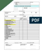 Form-test Report HYDROSTATIC Pipa Air Bersih