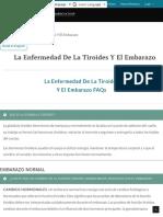 La Enfermedad De La Tiroides Y El Embarazo | American Thyroid Association.pdf