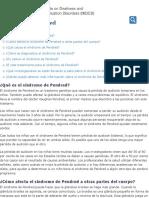 Síndrome de Pendred | NIDCD