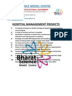 Hospital Management Projects