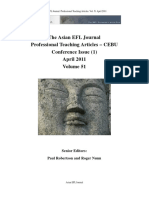 The Asian EFL Journal Professional Teaching Articles  April-2011
