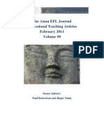 The Asian EFL Journal Professional Teaching Articles February-2011
