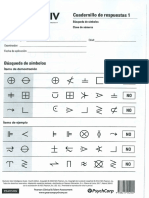 Clave de números y Búsqueda de Símbolos del WAIS-IV