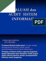 Evaluasi Dan Audit Sistem Informasi