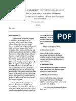 Laporan Akhir Praktikum Fisiologi Hewan Smt. 4 Menghitung Jumlah Leukosit dan Waktu Koagulasi Darah