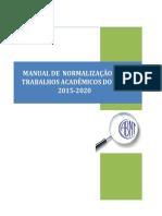 Instrumentação 2015-2020