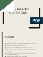 Pengukuran Aliran Gas