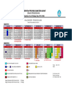 Kalender Pendidikan Prov. 2018-2019