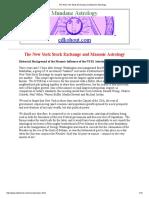 The New York Stock Exchange and Masonic Astrology2