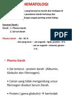 Hematologi 1