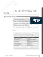 NEC4ECC Practice Note 2 BIM and CIC Protocol