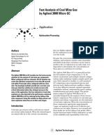 Agilent gas chromatograph