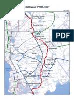 Metro Manila Subway Project Alignment