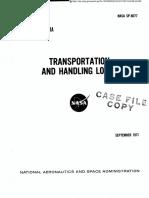 NASA Transport and Handling Loads