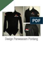 Desaign seragam Panwas