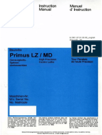 Weiler Primus LZ-MD Manual