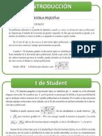 MATERIAL N° 2  Prueba de Hipoteis con t Student