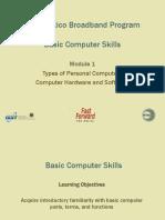 Basic Computer Skills - Module 1