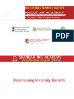 Materialising maternity benefits Current Affairs 12-07-2018