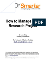 Managing Your Project