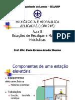Estações de Recalque e Máquinas Hidráulicas