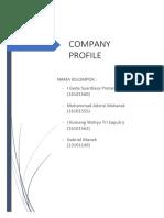 Tugas Company Profile