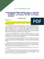 COMMISSIONER OF INTERNAL REVENUE vs. estate of toda.doc