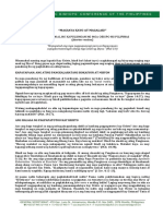 Document1 Tagalog Cbcp Statement