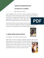 20 Biografias de Baloncesto