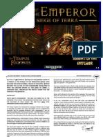 Seige of Terra Emperor Edition