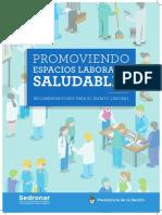 Promoviendo Espacios Laborales Saludables