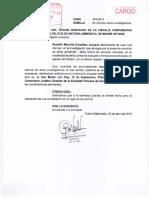 Juan Loja - Agraviado solicita que se realice una diligencia de constatación en la zona afectada