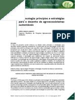 Agroecologia Princípios e Estratégias CANUTO