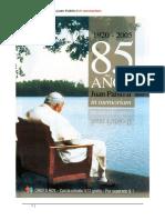 1920 2005 85 Anos Juan Pablo II in Memoriam