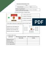 Evaluación de Matemática 2º 04-07 Posición