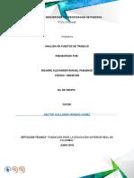 Desarrollo Unidad 1 Analisis de Puestos Trabajo