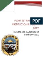 Plan Estrategico Institucional 2017 2019