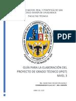 Guia de Elaboración Del Proyecto de Grato Técnico