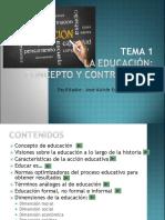 Introduccion a La Educación