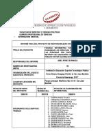 Facultad de Derecho y Ciencias Politicas Informe Final Respo Vi