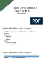 Formulacion y Evaluacion de Proyectos 1
