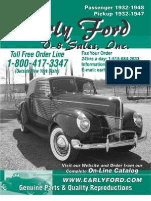 1937-40 Ford car 38-41 Pickup cowl lacing kit      78-16740