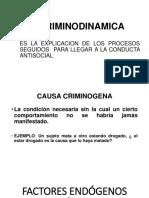 La Criminodinamica